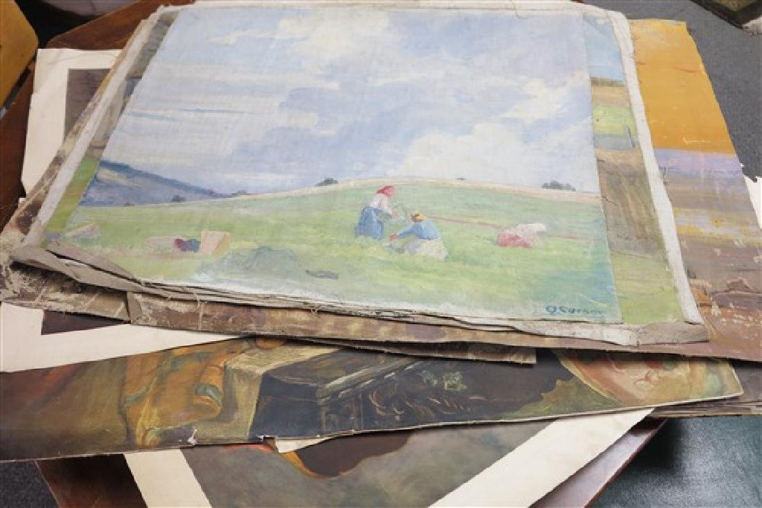 Lot of Paintings/Prints early 20th Cent