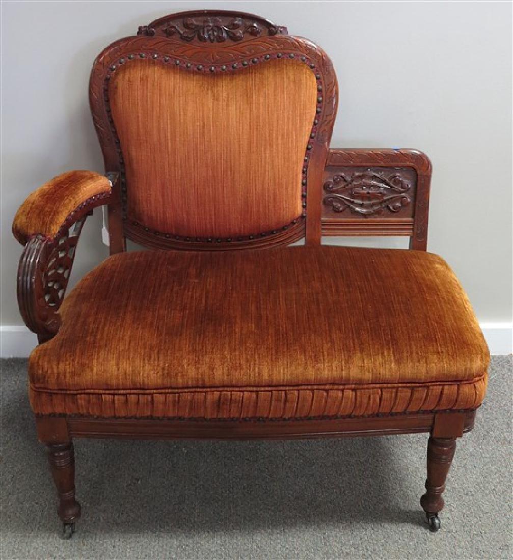 Sweet Upholstered Settee