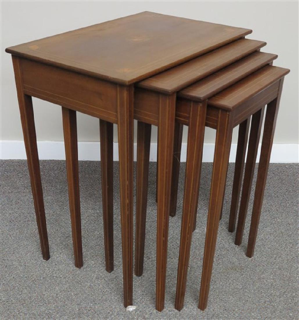 Inlaid Nesting Tables