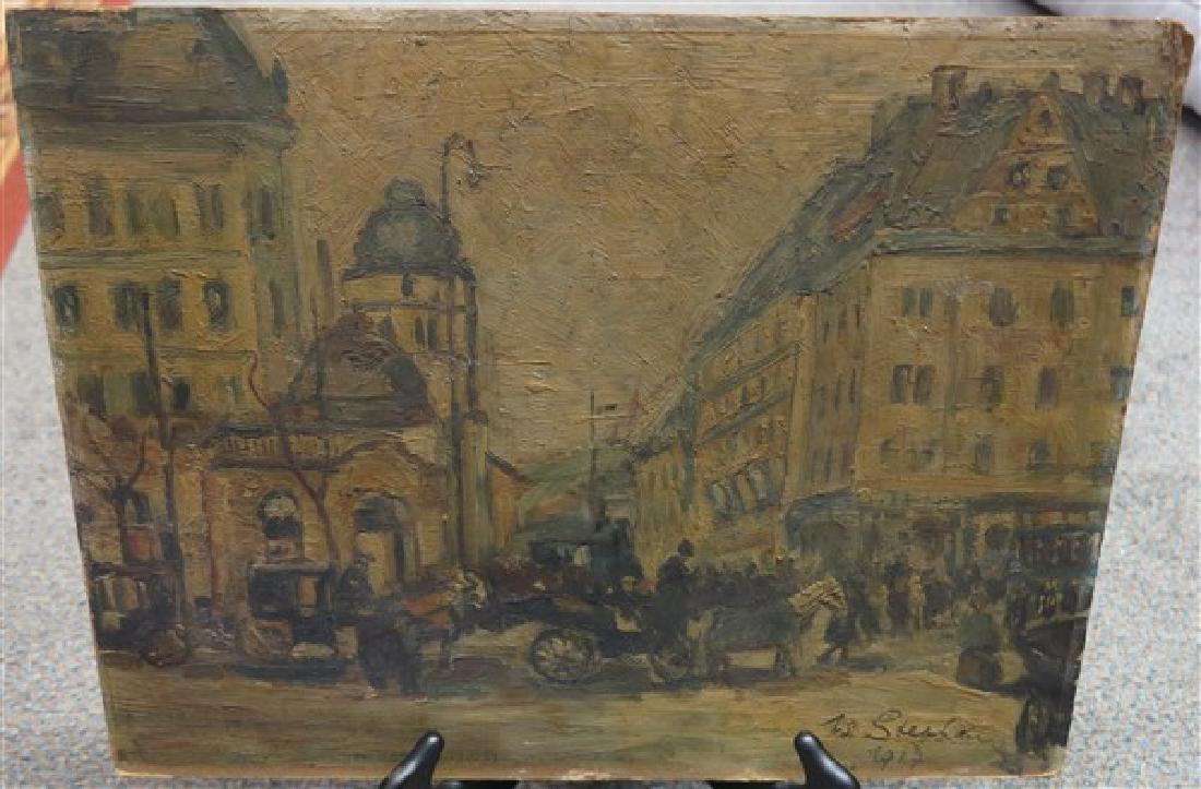 Unframed Oil on Artist Board