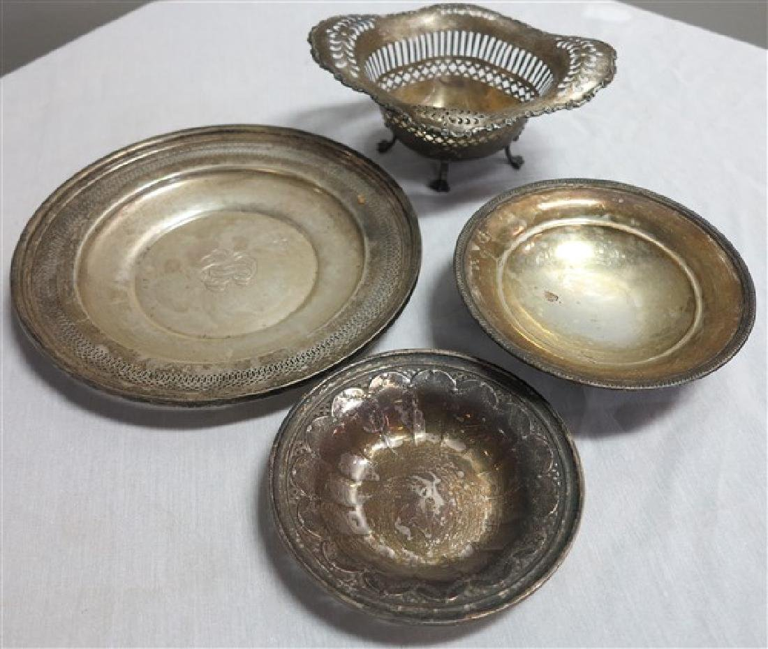 4 Pc Sterling Lot