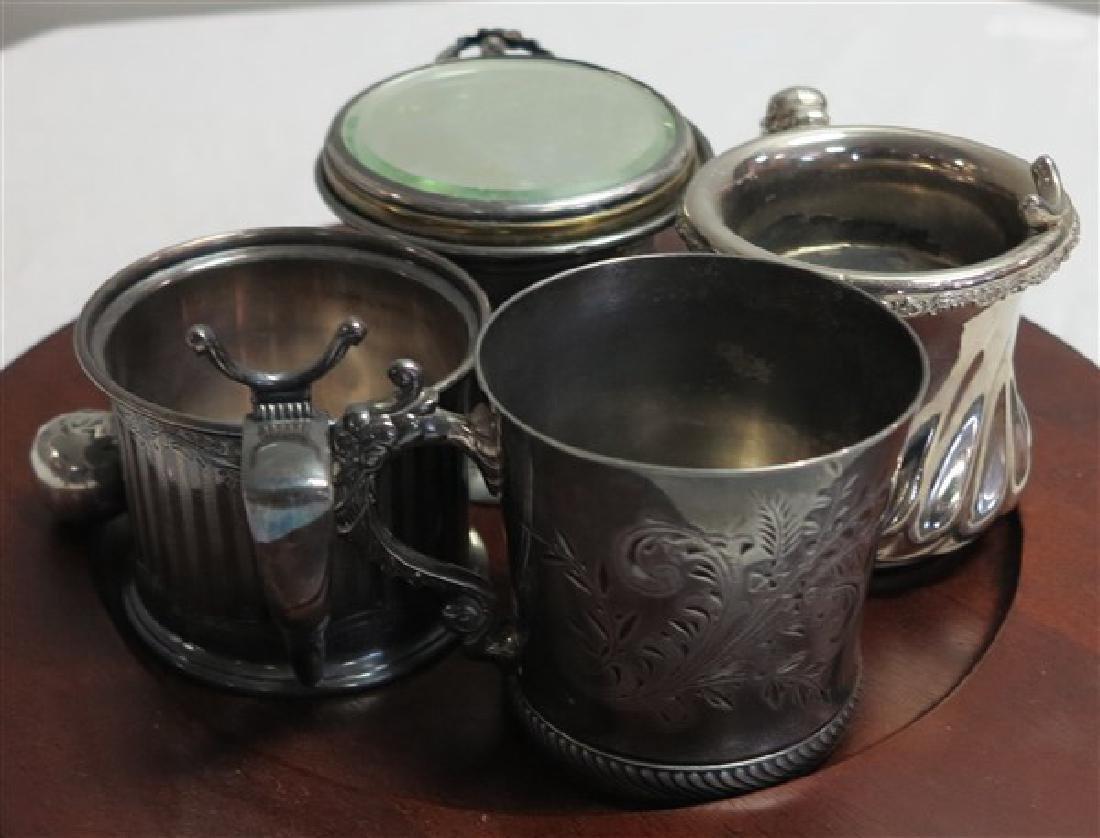 S,P. Shaving Mugs