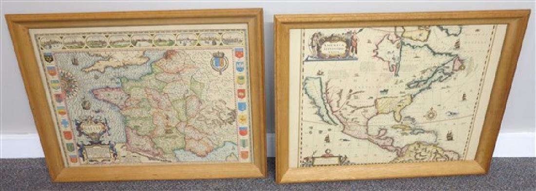 4 Framed Maps