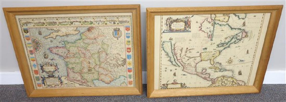 4 Framed Maps