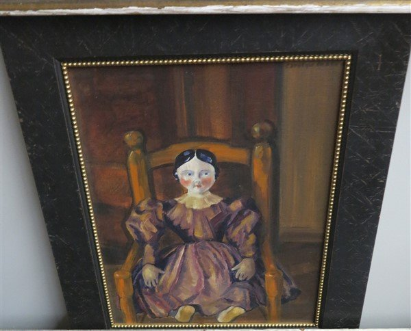 O/C Doll in Chair