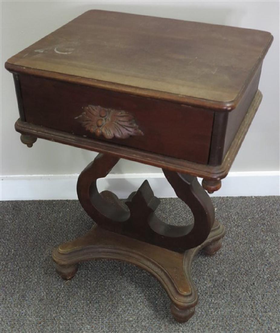 1 Drawer Walnut Stand