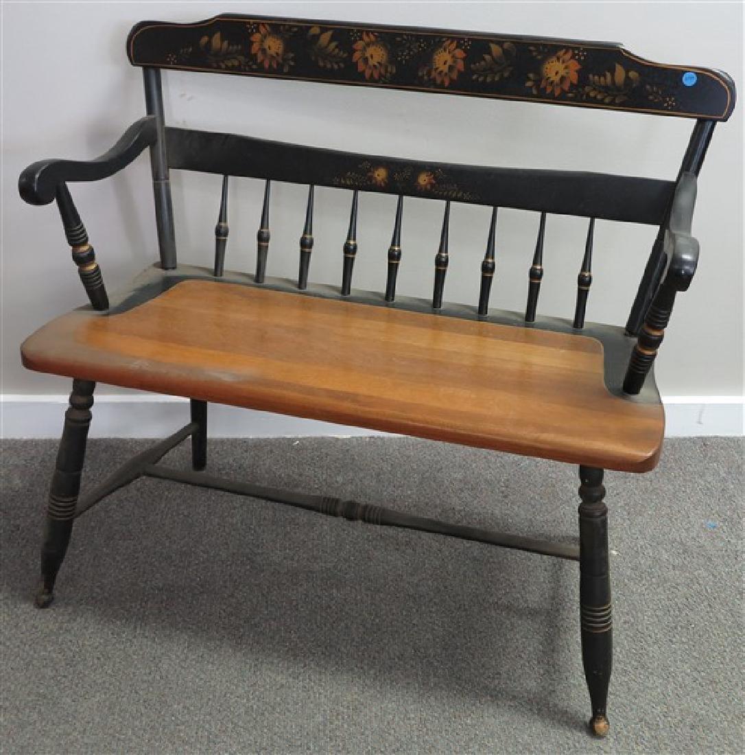 """Windsor Bench, """" Bent """" Furniture"""