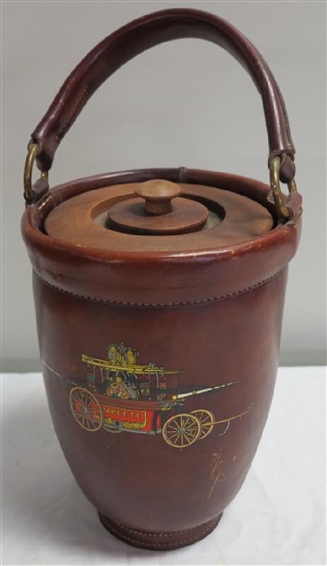 Leather Firebucket
