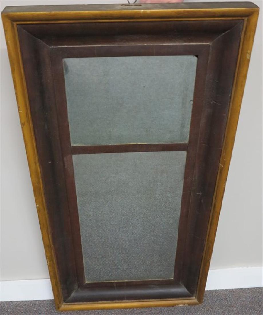 2 Part Antique Ogee mirror