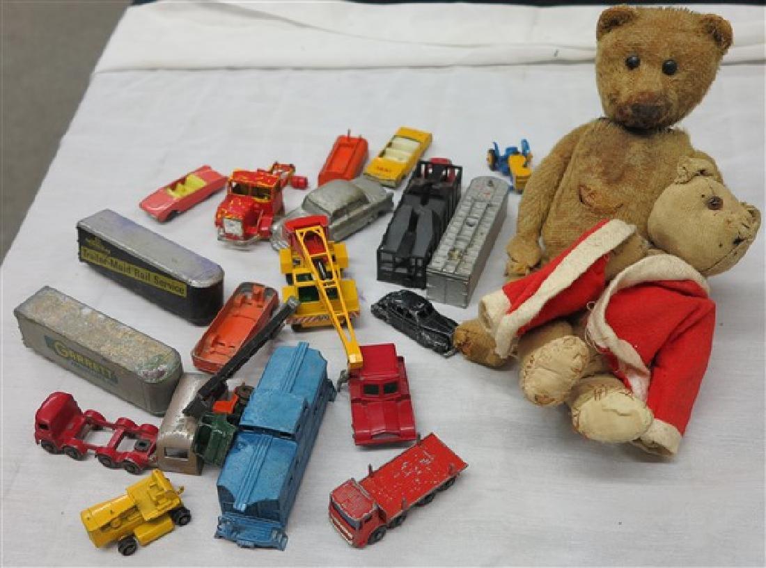Tray of  Toys