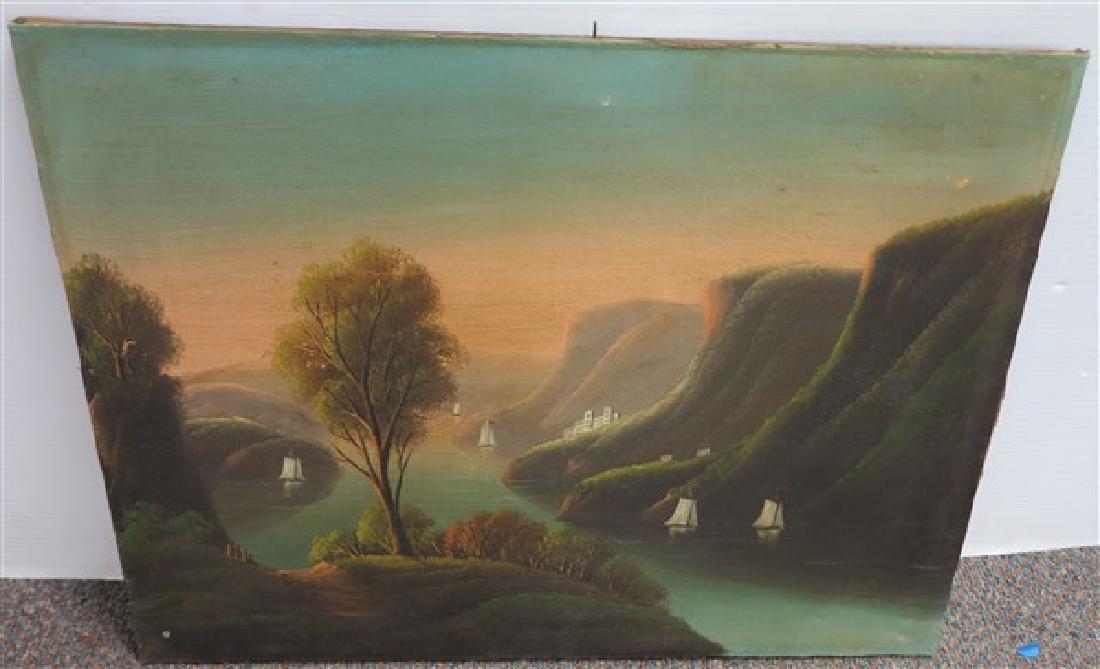 Unframed Riverscape