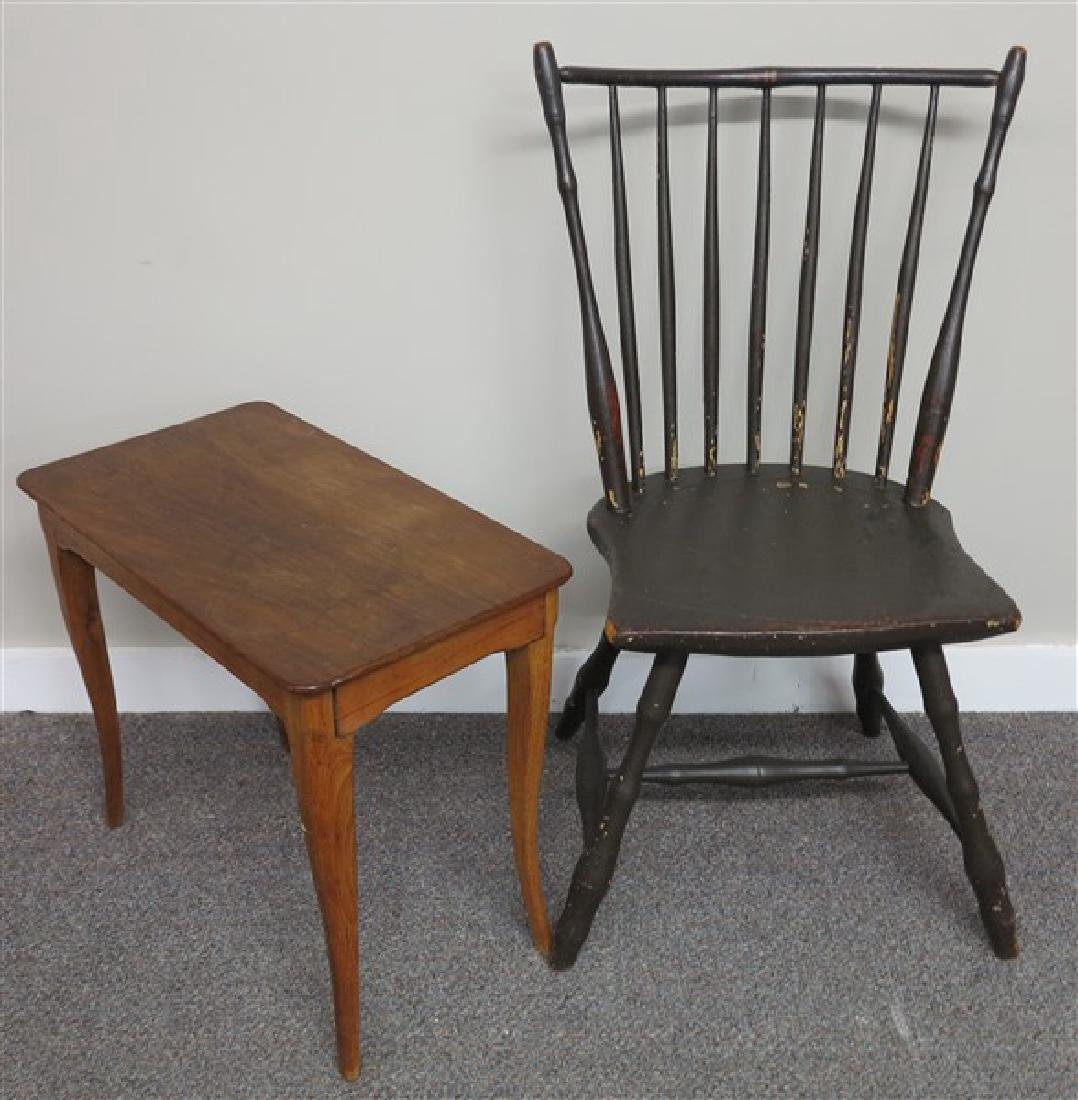 Windsor Chair and French Table