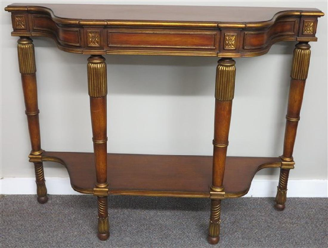 "Console Table- 36"" h, 48"" w x 13 1/2""deep"