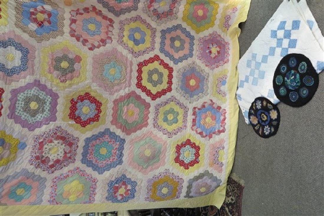 2 Quilts and Seat Covers