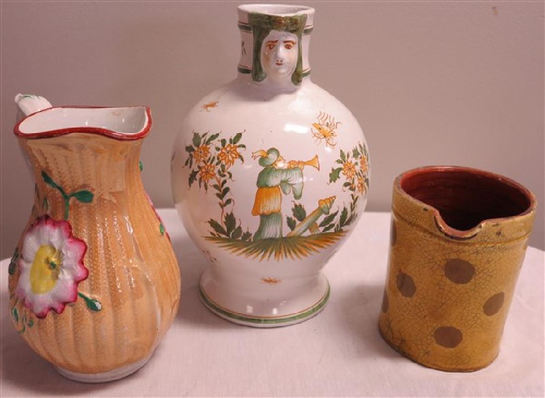 3 Pcs of Pottery