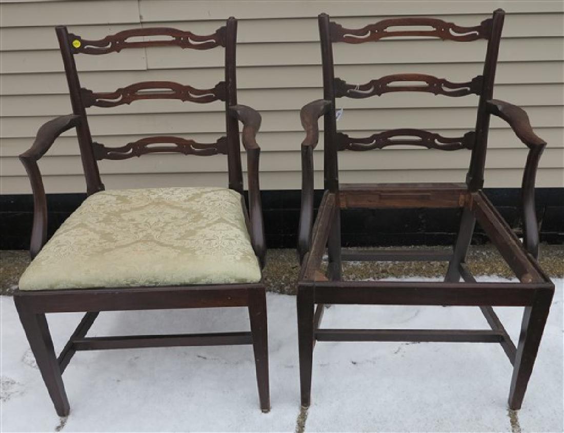 2 Ribbon Back Chair Frames