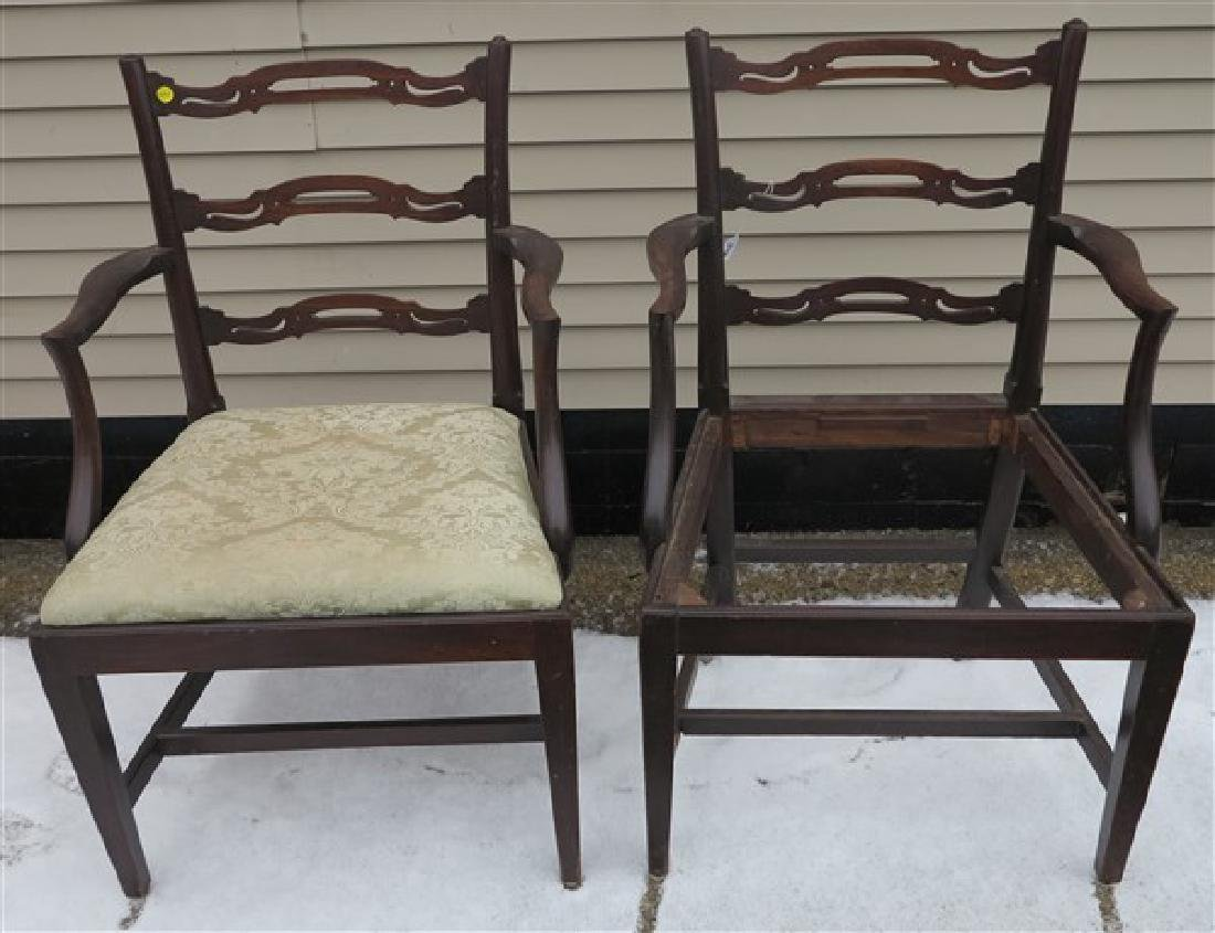 2 Ribbon Back Chair Frames