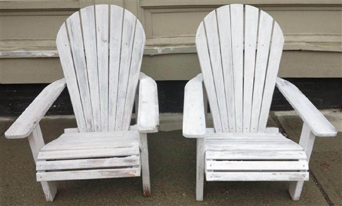 Pr. Adirondack Chairs