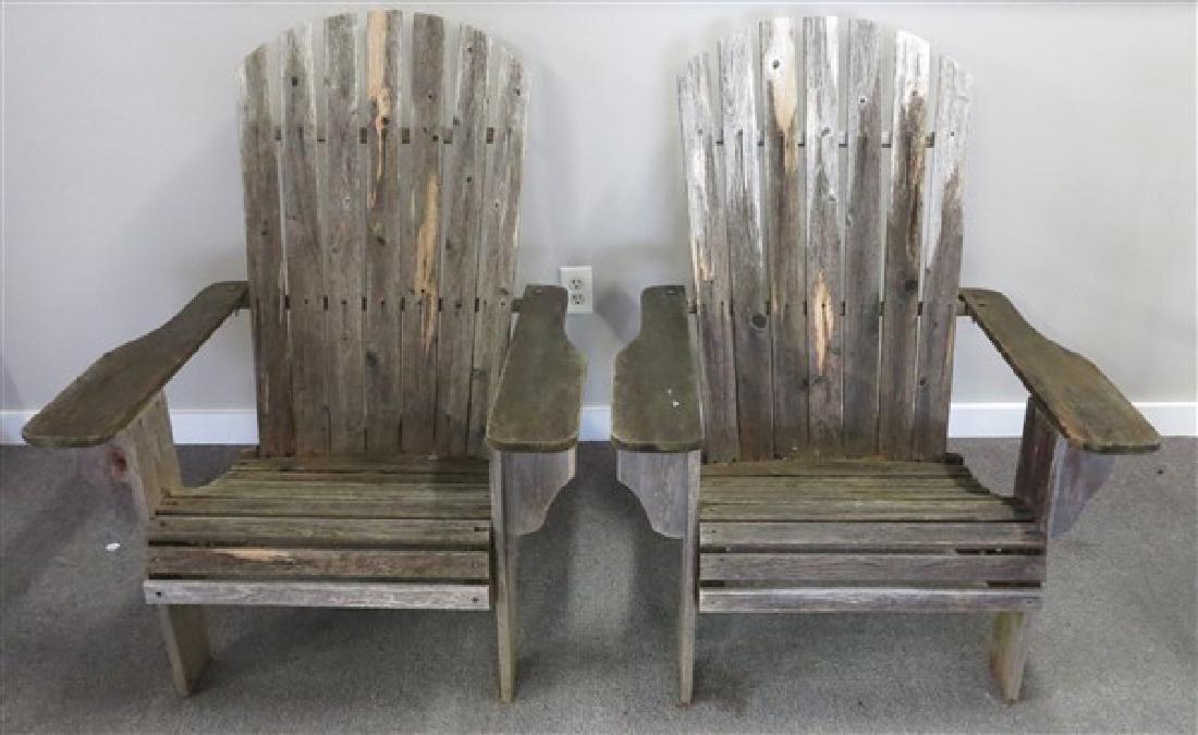 2 Adirondack Chairs