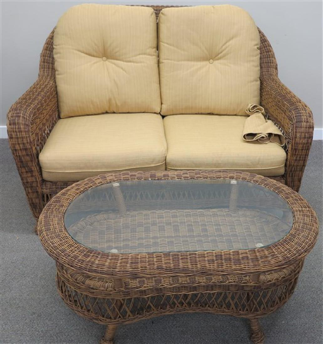 "5 Pc. ""Natural"" Wicker Set"