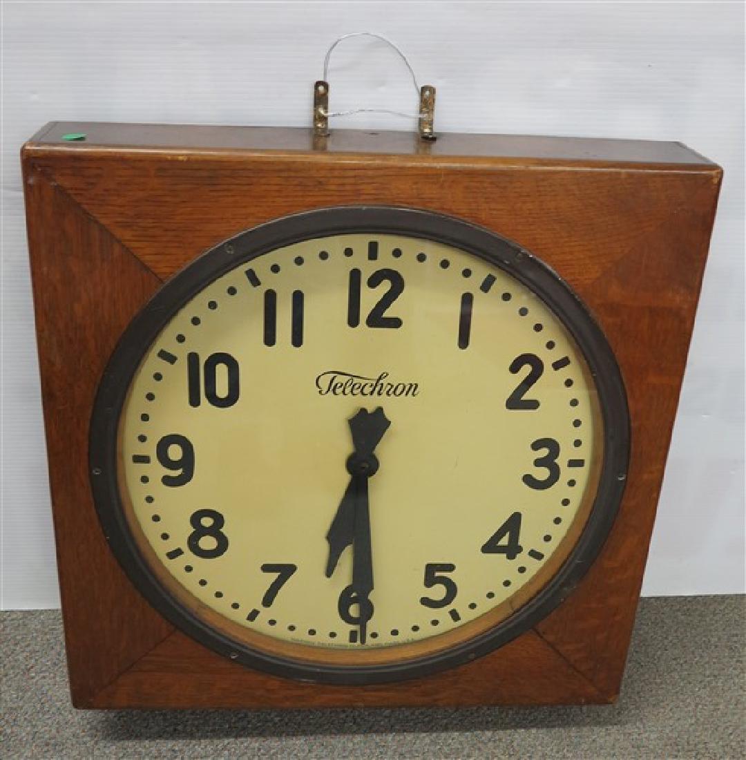 Telechron Industrial Clock