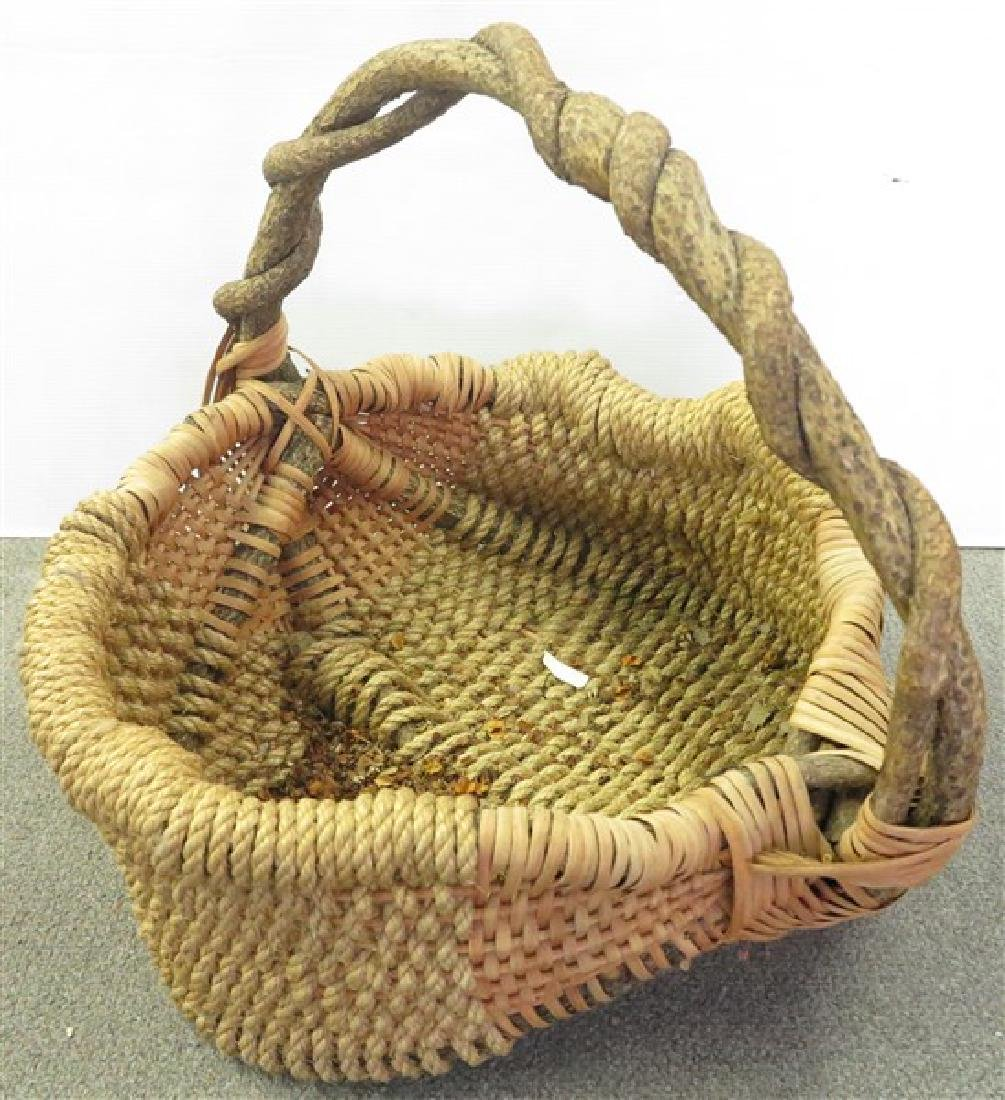 "Oversized ""Root"" Basket"
