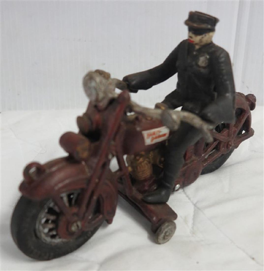 Cast Iron Harley Davidson Toy