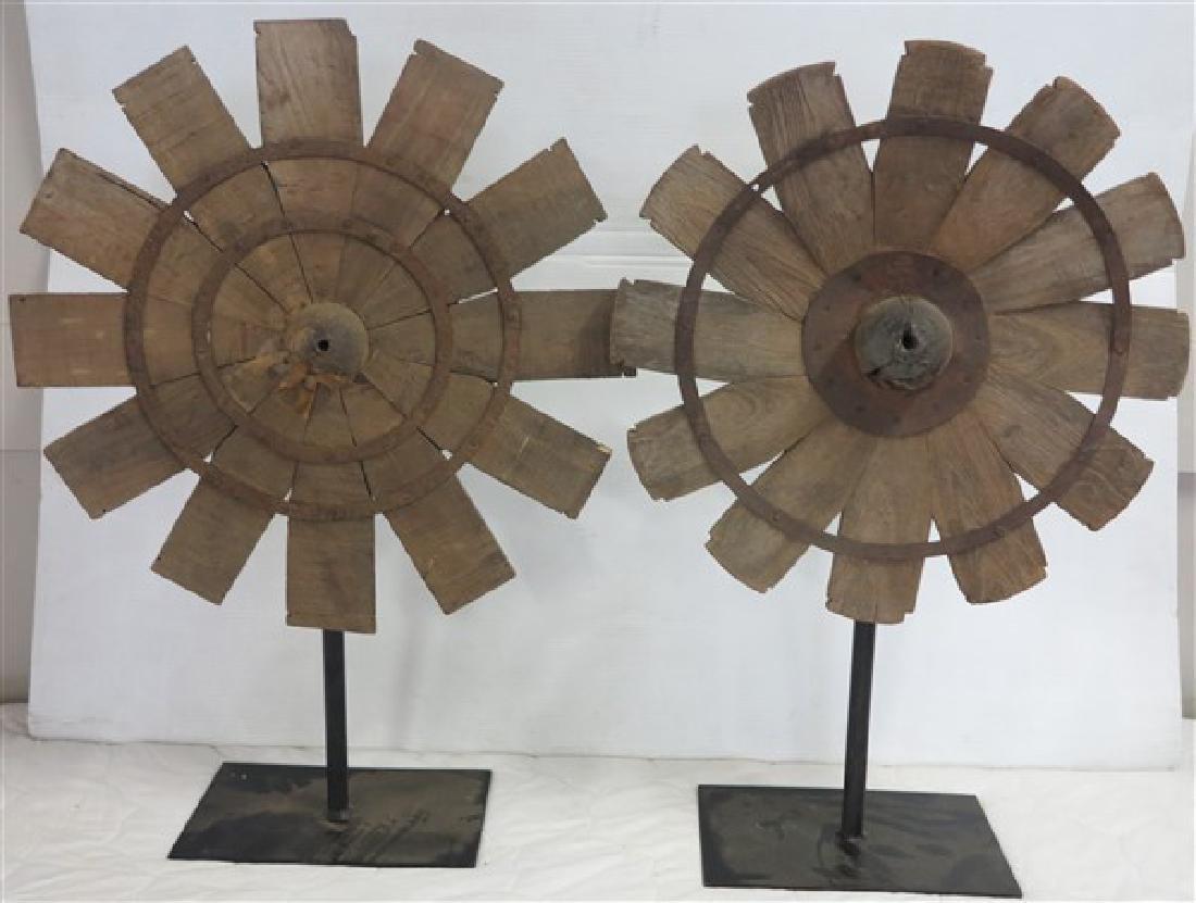 Pr. Pinwheel Sculptures