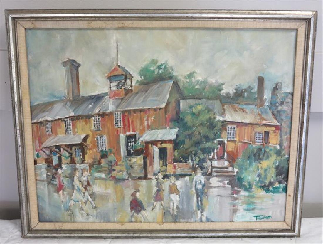 o/c Country Street Scene Truchess