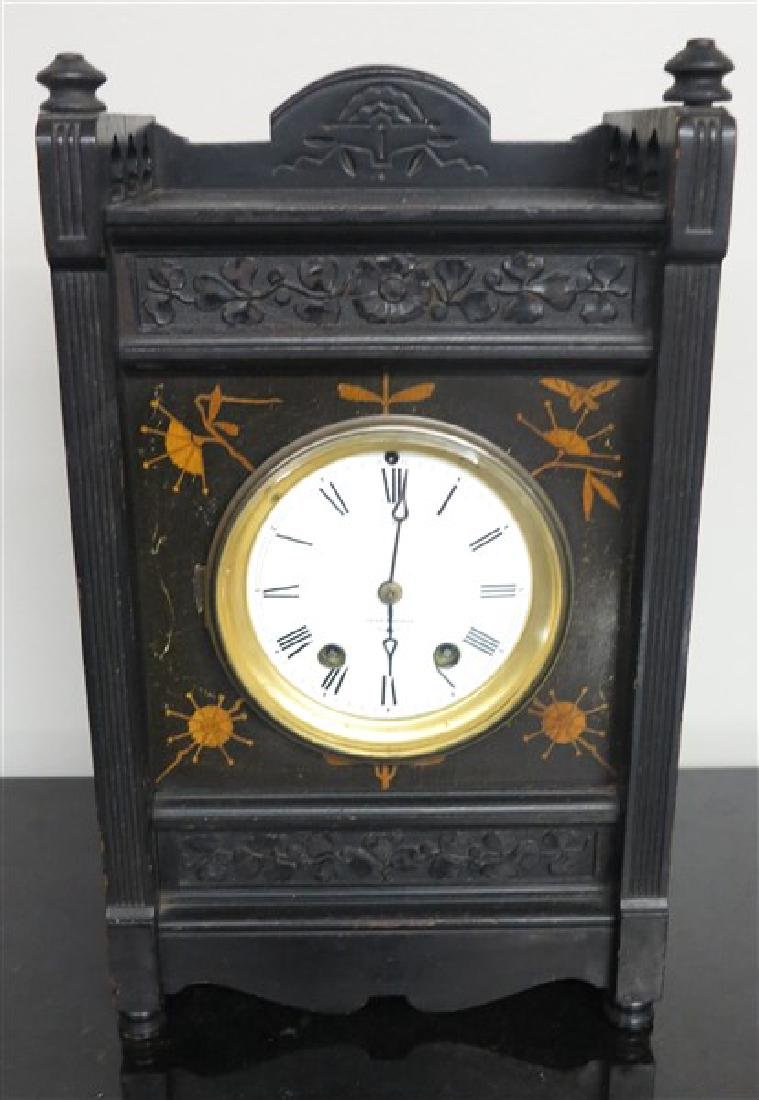 Seth Thomas Inlaid Mantel Clock