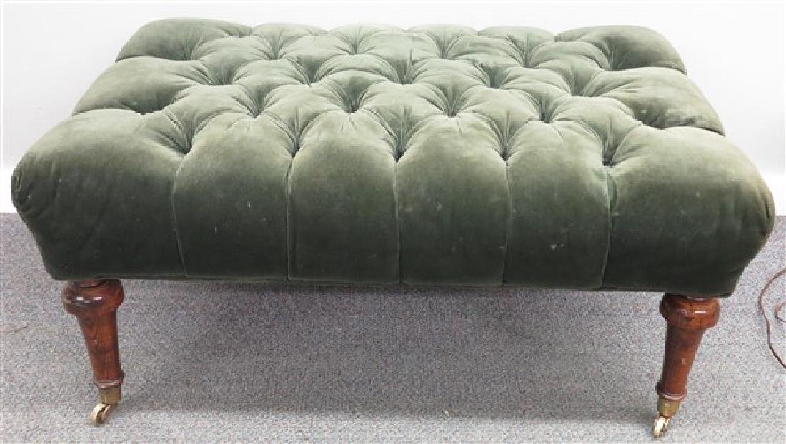 "over-sized Tufted Ottoman- 25"" x 36"" x 17""H"