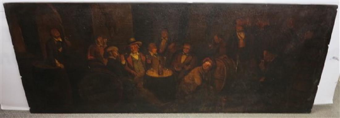 """o/b Tavern Scene- 23"""" x 59"""""""