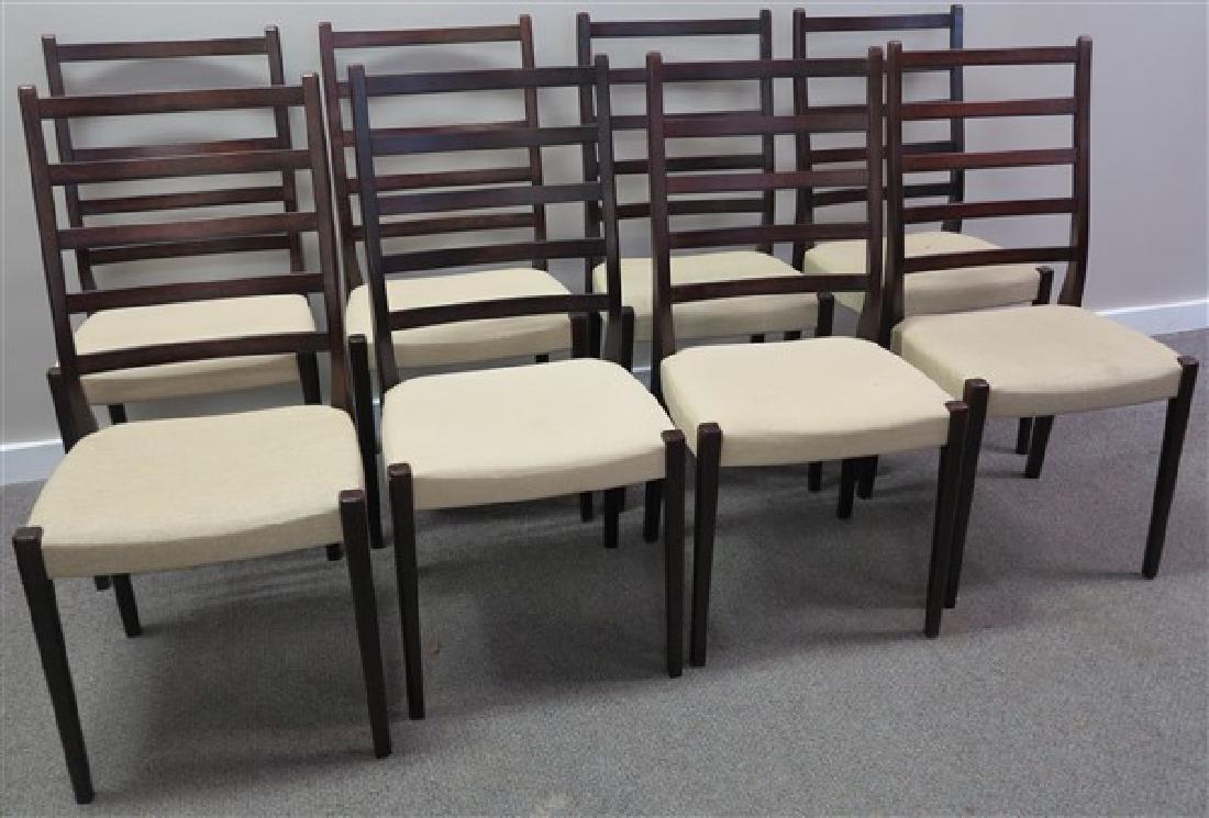 8 Mid-Century Chairs, Svegands Sweden