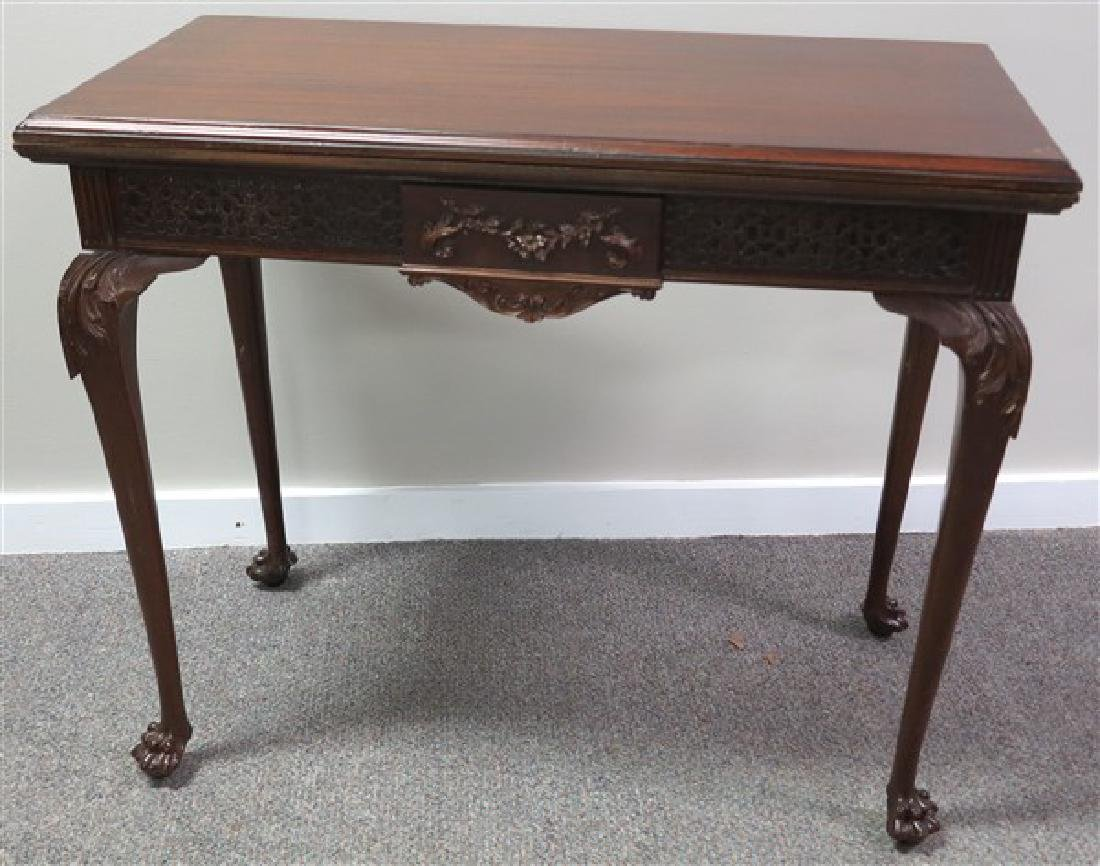 Mahogany Game Table- An Absolute Beauty!