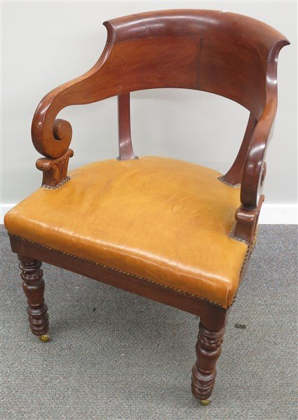 19th Cent Regency Armchair