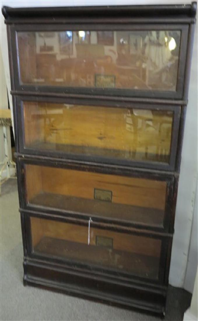 4 Stack Globe Wernicke Bookcase