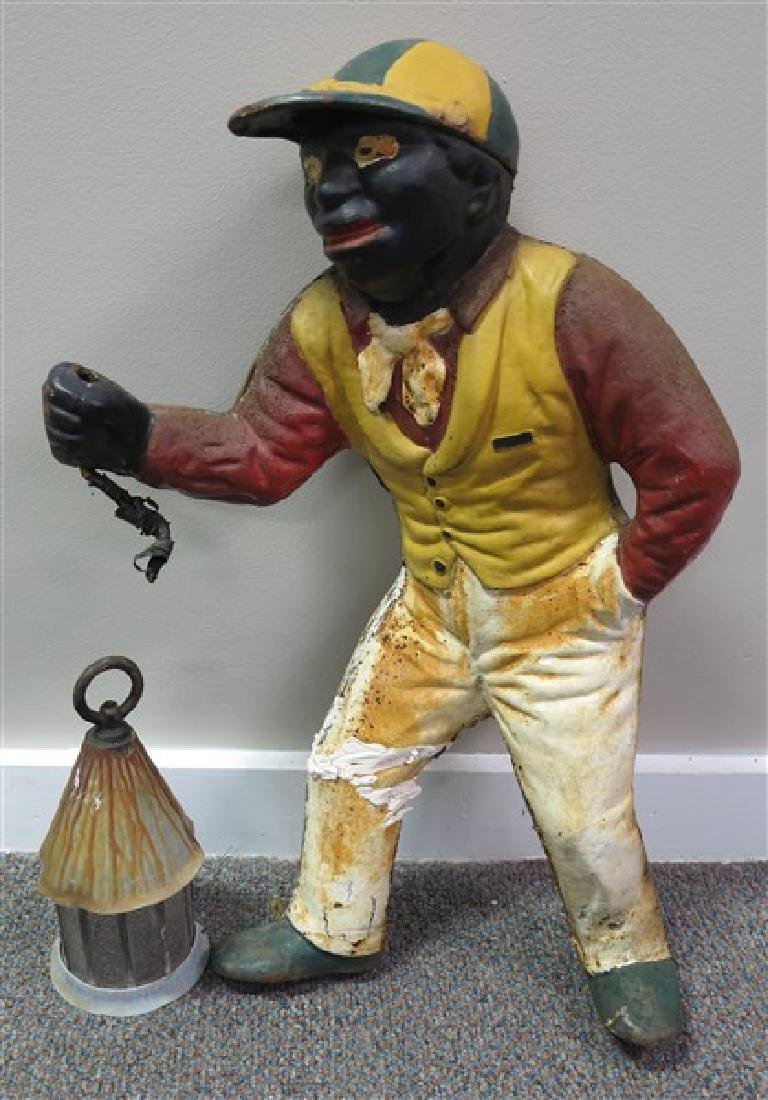 Cast Iron Jockey