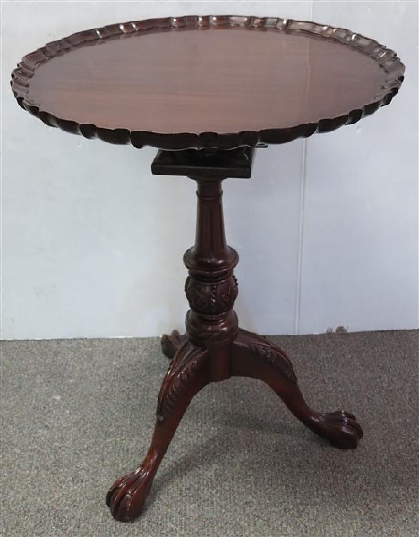 Mahogany Tea Table