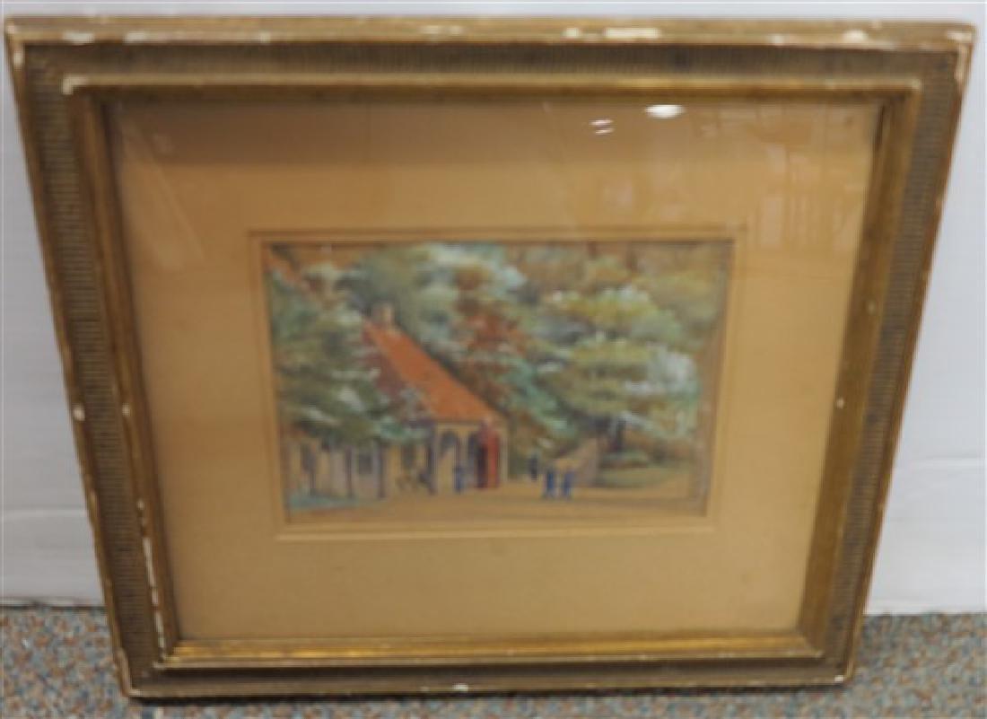 Sweet Little Framed Watercolor