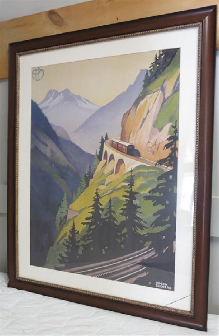 """""""Roger Broders"""" Framed Poster"""