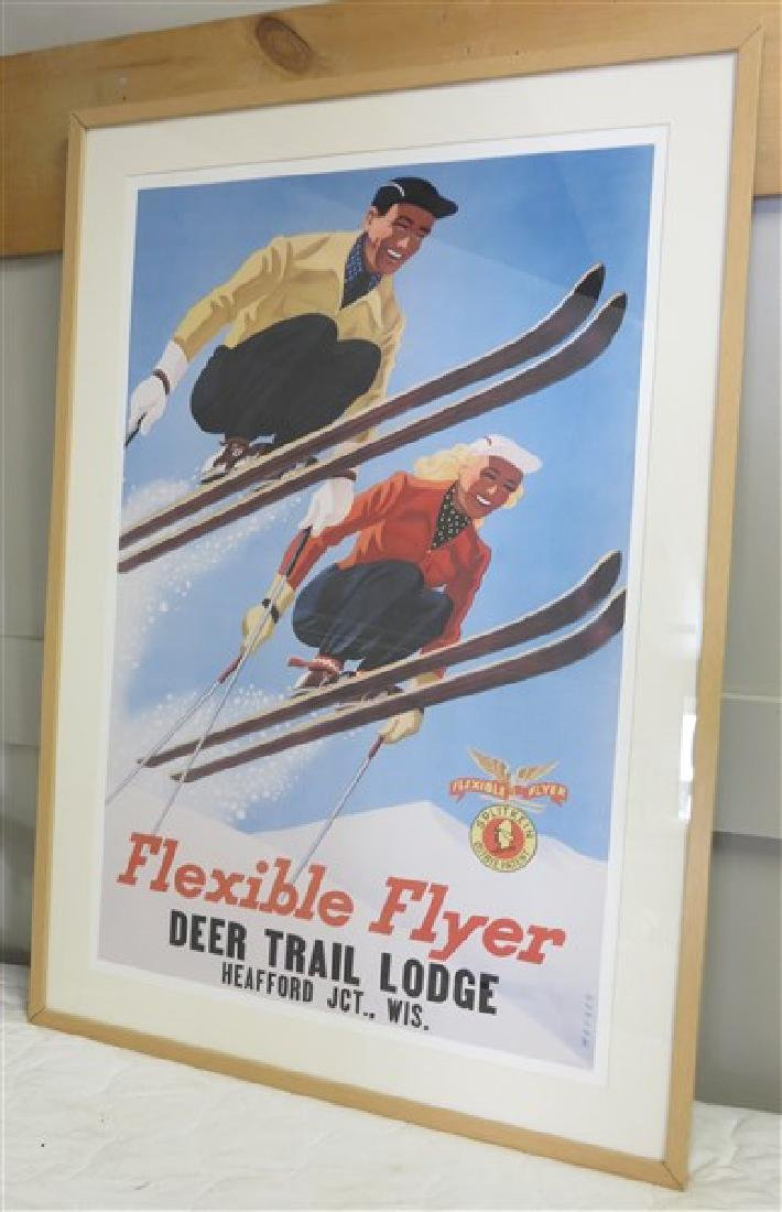 """Flexible Flyer"" Poster"