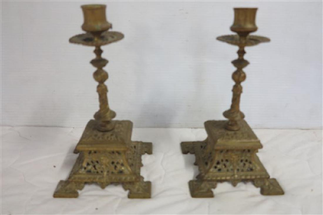 Pair of Lovely Brass Candlesticks