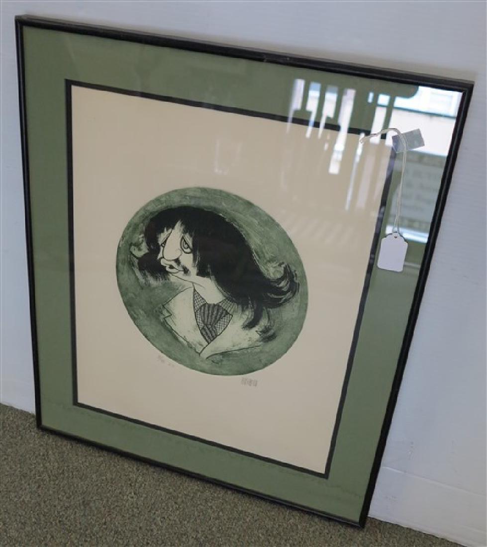 Hirschfeld Print, Ringo Starr