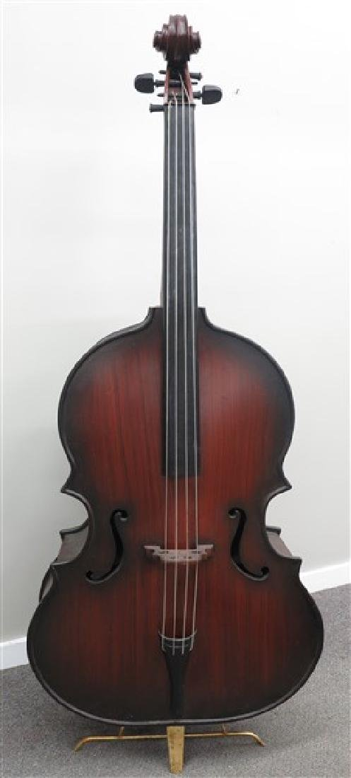 """Bass Fiddle"" Bookcase"