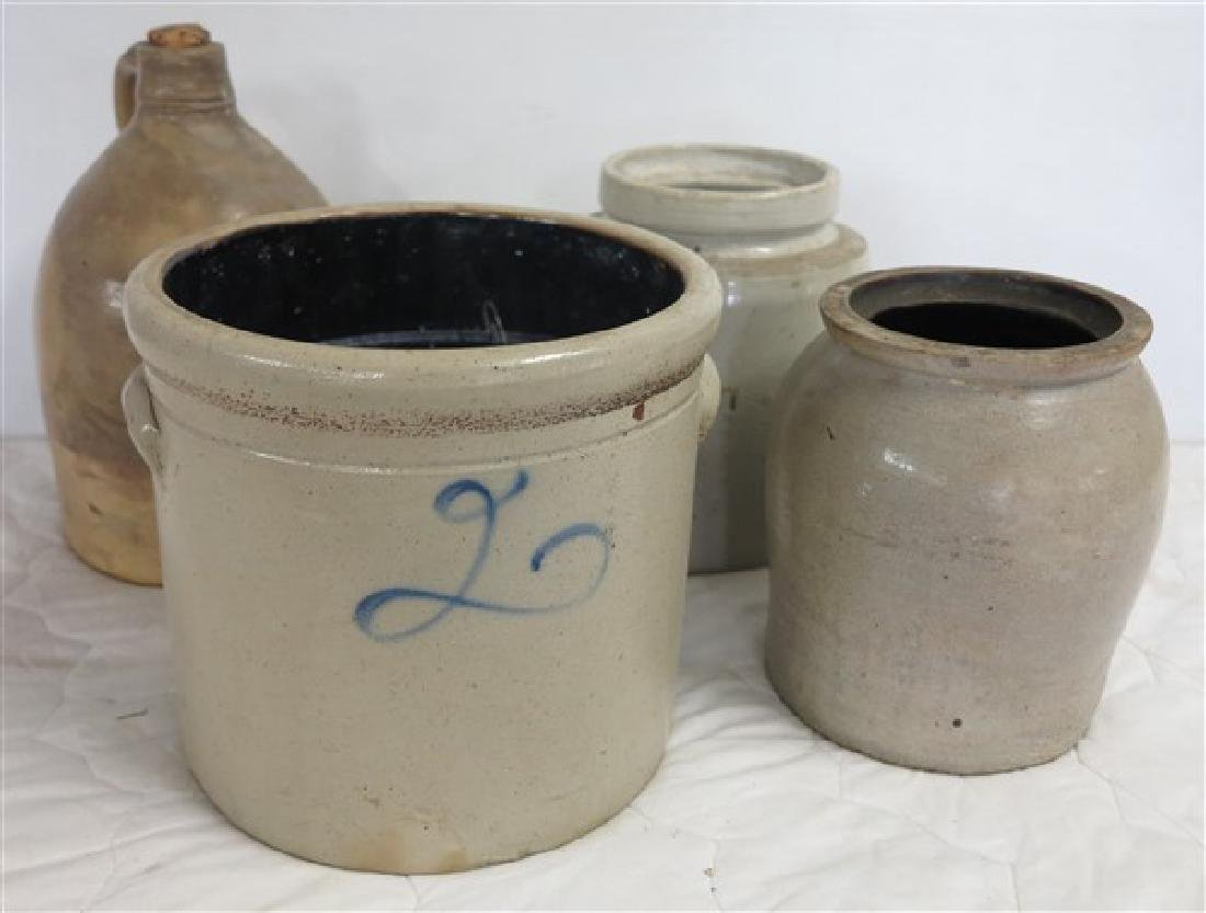 4 Pcs. Country Pottery