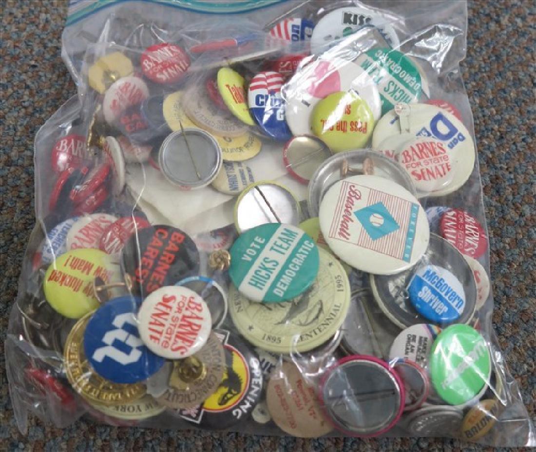 Bag of Political Pins