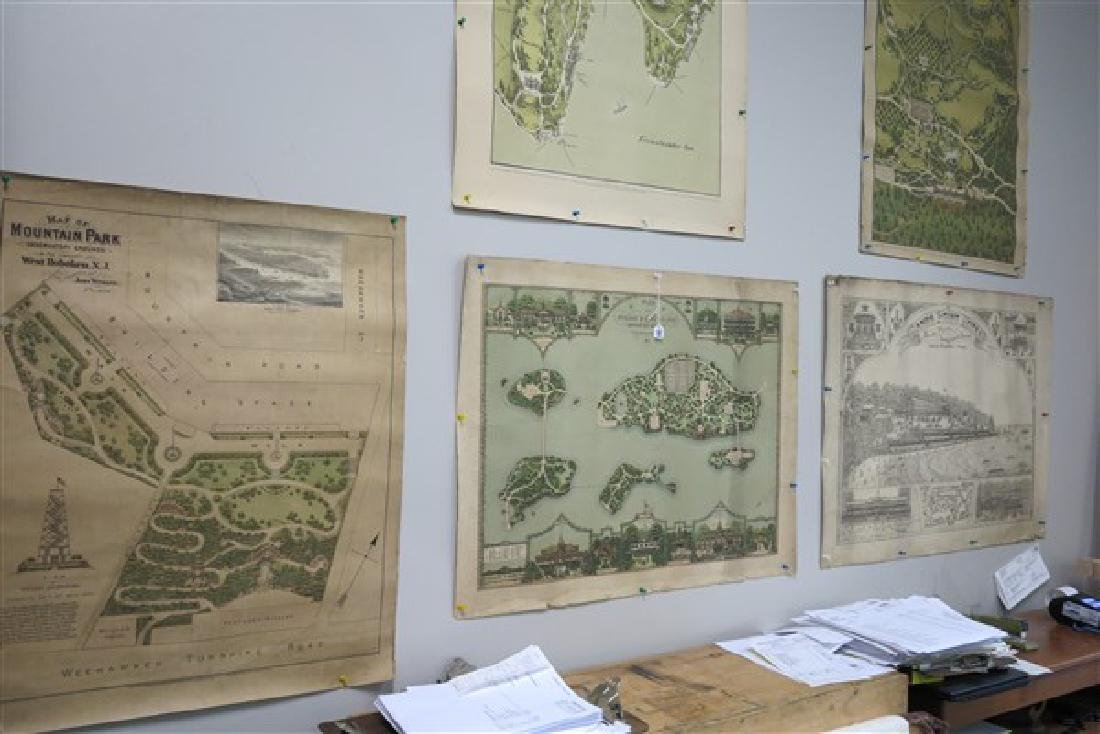 Lot of Maps (Unframed)