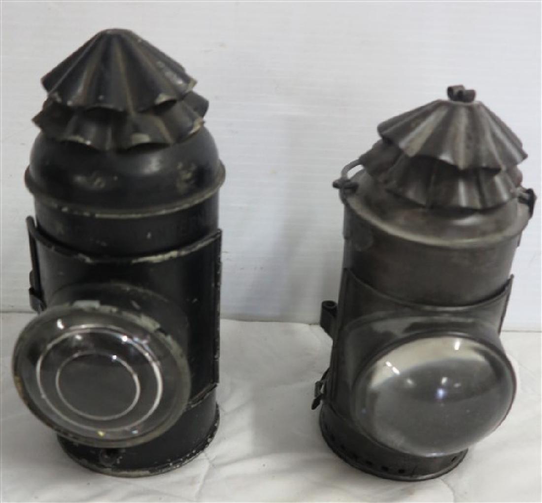 2 Police Lanterns
