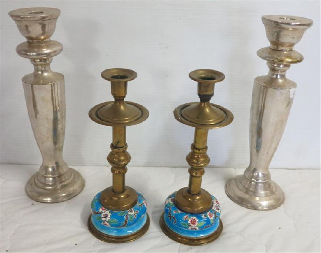 2 Pair of Candle Sticks