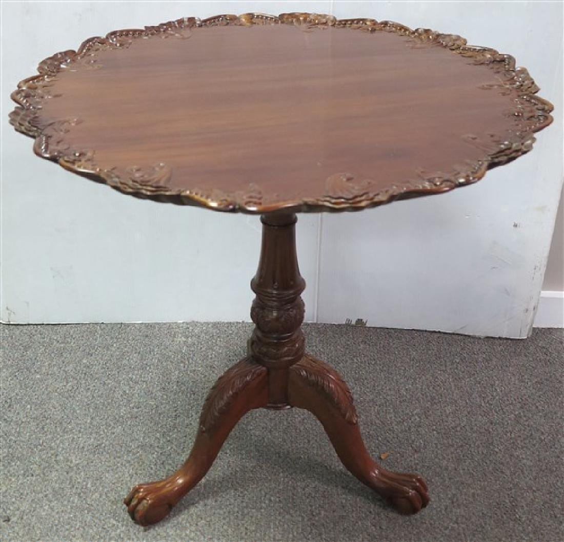 Contemporary Tip Top Tea Table